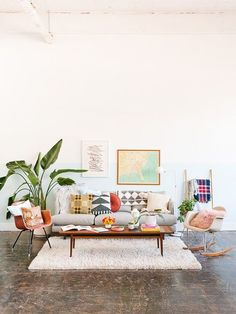 This interior! | Hesby (@shophesby) boho modern home decor + lifestyle