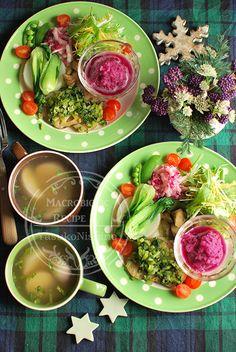 冬野菜のワンプレート。体と季節と野菜の関係性。