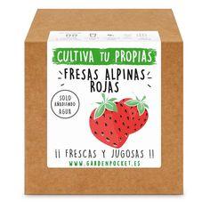 Las mejores ofertas en Mix Huerto Urbano Venta online de Kit siembra Fresas alpinas rojas Garden Pocket. Sólo 8,95€. Entra Ahora y Descúbrelo.
