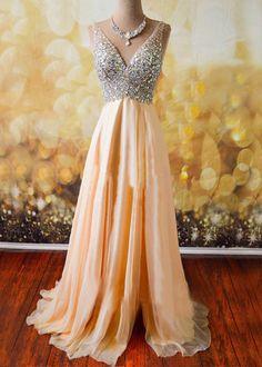 Off shoulder prom dresses, rhinestone prom dresses, beaded prom dresses, long prom dresses, cheap prom dresses, prom dresses 2017, 271090