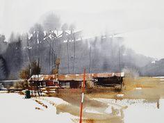 Elisabeth Biström watercolor 2018. #akvarell #watercolor