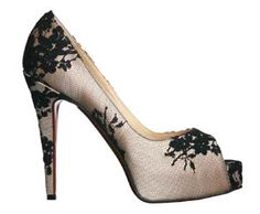 Christian Louboutin - Gorgeous!! Although I can barely walk in heels that high!! Hahaha