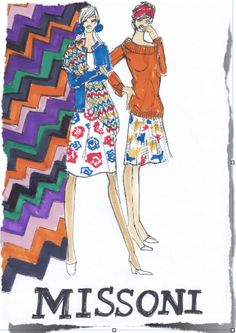 Missoni by Beatrice Brandini www.beatricebrandini.it