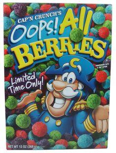 Cap'n Crunch's Oops! All Berries Cereal