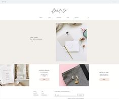 Estudio Greta DesignEuni + co. is a stationery brand and calligraphy studio. Amazing Websites, Create Website, Creative Studio, Paper Goods, Web Design, Stationery, Calligraphy, Templates, Inspiration