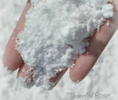 Erupting Snow Recipe- pinned by @PediaStaff – Please Visit ht.ly/63sNtfor all our pediatric therapy pins