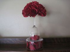 ideas party decorations for adults centerpieces wine glass Diy Wedding Decorations, Reception Decorations, Wedding Centerpieces, Inexpensive Centerpieces, Centerpiece Ideas, Wine Glass Centerpieces, Party Food Buffet, Best Party Appetizers, 70th Birthday