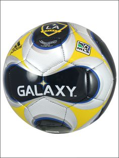 Because of my love for soccer and the LA Galaxy, I like this ball and the way it was designed.
