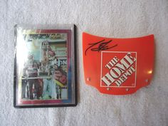 Lot Of 2 Nascar Type Of Items,1,Dale Earnhardt Card,1,Tony St...
