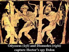 Image result for Diomede homer