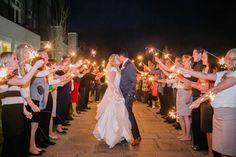 Sleepy Ridge Weddings & Events | Utah Venue | Sparkler Sendoff | Bride and Groom | Terra Cooper Photography