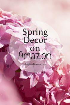 Spring, Spring decor, cottage decor, farmhouse decor, farmhouse, decor, inspiration, amazon
