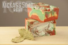 My customers love the warm woodsy fragrance of the Earth and Fire soap. This soap is made with Brambleberry's Tobacco and Bay Leaf fragrance oil, *olive oil, coconut oil, palm oil, castor oil, organic