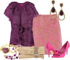 Outfits de Moda ...Me Tomo Cinco Minutos: Estilo Glam