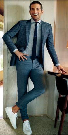 Bradley Cooper summer suit style