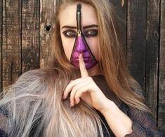 Instagram @nnlindeman Halloween makeup discovered by Nina Halloween Makeup Looks, Find Image, We Heart It, Black, Instagram, Black People, Halloween Makeup