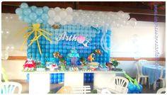 Feltrolândia : Decoração Festa Infantil - Fundo do Mar