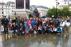 İhlas Koleji İngiltere Yaz Kampı London Trafalgar square
