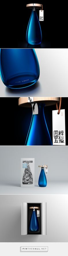 Guo Cui Wu Du Liquor packaging design by Lingyun Creative - http://www.packagingoftheworld.com/2017/03/guo-cui-wu-du-liquor.html