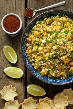 Mexican Street Corn - this stuff is CRAZY GOOD! It works double duty too, as a side or a scrumptious dip!