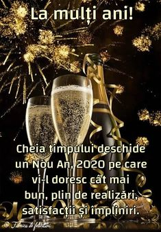 Felicitari de anul nou 2020 - La mulți ani! Happy New Year Gif, Happy New Year Photo, Happy New Year Images, New Year Photos, Happy Birthday Pictures, Happy Birthday Fun, An Nou Fericit, Winter Scenery, Diy Wall Art