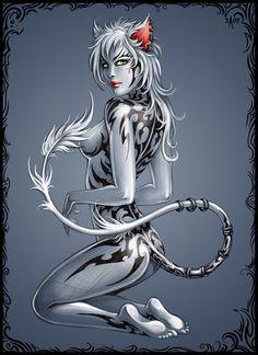 Tattocat by Candra.deviantart.com on @deviantART