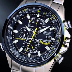 The Citizen Men's Blue Angels Watch is a new watch that I've had my eye on. With a bold blue and yellow look and atomic timekeeping it's the ultimate in style and practicality.