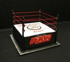 WWE Cakes   WWE Wrestling Ring Cake - by Michelle @ CakesDecor.com - cake ...