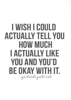 11 Best I like him quotes images | Thinking about you, Thoughts