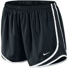 Running shorts with good ventilation and moisture regulating, breathable Dri-FIT fabric.