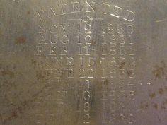 patents dates