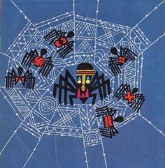 Anansi (/əˈnɑːnsi/ ə-NAHN-see) is an Akan folktale character. He often take… - Kunstunterricht Line Art Projects, African Art Projects, Line Art Lesson, Art Lesson Plans, 2nd Grade Art, Grade 2, Spider Art, Spider Crafts, Ecole Art