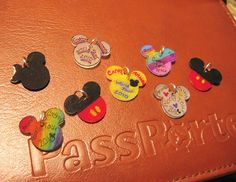 Disney shrink art charms from Migoto Chou