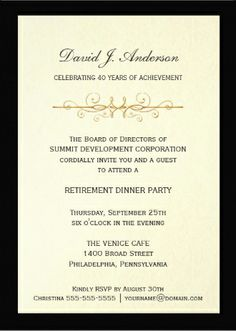 38 best retirement party invitations images in 2018 retirement