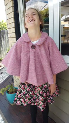 Get one of these before the cold really kicks in! Available in 3 different size ranging from babies to adults!Blush Winter Poncho by LittleLizajade on Etsy