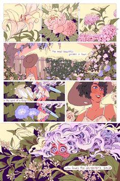 A fairy who loves the gardener's smile.