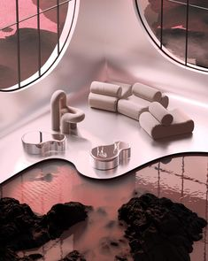 Interior Exterior, Modern Interior, Home Interior Design, Interior Styling, Interior Decorating, Futurism Architecture, Architecture Building Design, Amazing Architecture, House In The Clouds