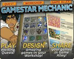 Gamestar Mechanic is an online gaming creation machine I am using in my HS class as an alternative to a local GameMakerPro. Since it is a web app, I might have to find a different local program for windows. Depends on the students.