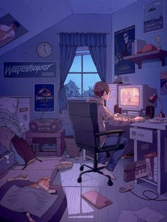 If you needed some good news, 50000 people have now recovered from the virus. Aesthetic Drawing, Aesthetic Art, Aesthetic Anime, Animes Wallpapers, Cute Wallpapers, Anime Scenery Wallpaper, Isometric Art, Deep Art, Night Aesthetic