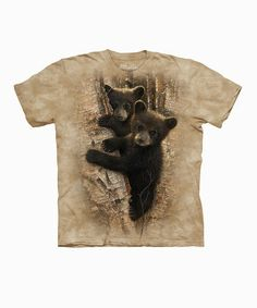 Take a look at this Tan Curious Cubs Tee - Toddler & Kids by The Mountain on #zulily today!