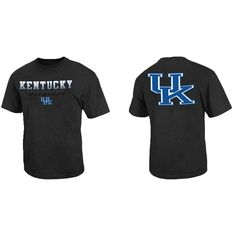 Kentucky Wildcats Adult NCAA Fade In T-Shirt - Black - Campus Colors #kentuckywildcats