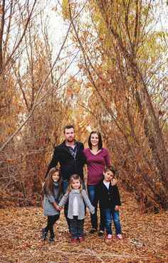 Family.  Family photography.  Family of five.  Family posing.  Daniel-Skye Photography from Bakersfield, CA