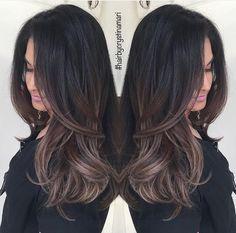 #brunette #ash #brown #hairbycrystinamari #balayage