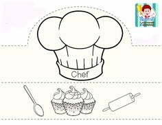 Italian Cooks Classroom Activities, Preschool Activities, Community Helpers Crafts, People Who Help Us, Community Workers, Kids Class, Kids Education, Preschool Crafts, Kids And Parenting