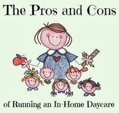 Are you considering opening your own in home child care program? check out my pros and cons of doing home daycare and add your own!