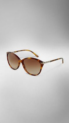 Burberry Cat-Eye Tortoiseshell Sunglasses