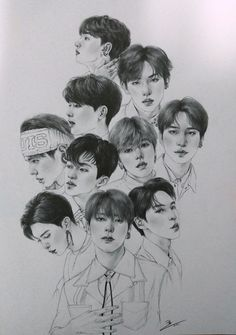 Where can i find this amount of talent yes. в 2019 г. nct, k Nct, Kpop Drawings, Art Drawings, Korean Painting, Graphic Artwork, Chibi, Art Party, Kpop Fanart, Art Tutorials
