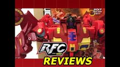 Fans Hobby MB-03A The Red Dragon SGC 2017 Shanghai Exclusive Review