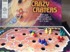 Vintage Crazy Craters Board Game John Sands 1986 Rare Hard To Find in Toys, Hobbies, Games, Board & Traditional Games | eBay!