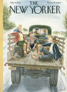 The New Yorker - Saturday, July 8, 1950 - Issue # 1325 - Vol. 26 - N° 20 - Cover by : Constantin Alajalov